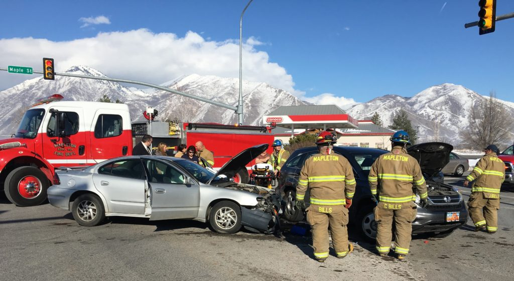 Car Accident Mapleton Utah