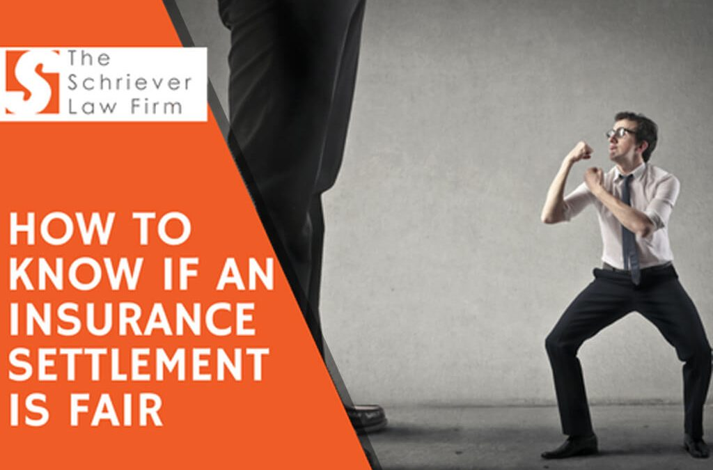How to Know if An Insurance Settlement is Fair