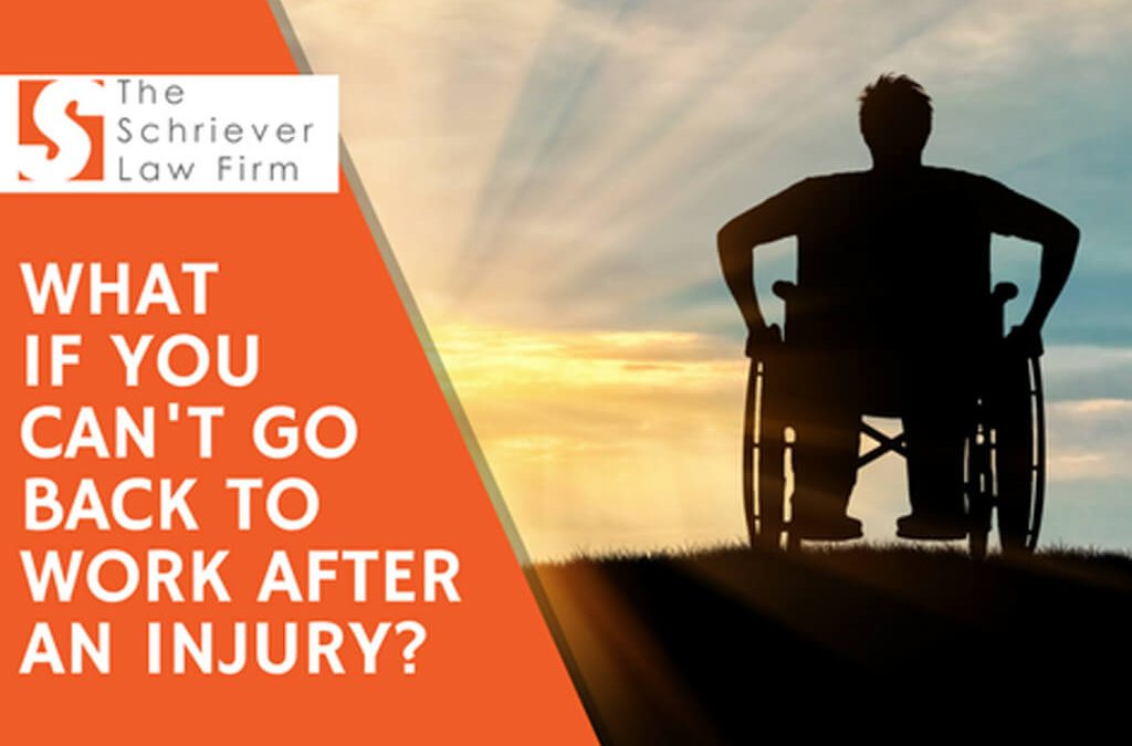 What if I Can't Go Back to Work After an Injury?